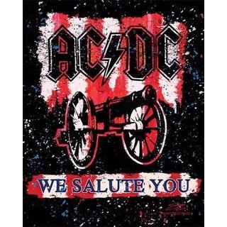 Stephen Fishwick AC/DC 'We Salute You Bold' Canvas Wall Art