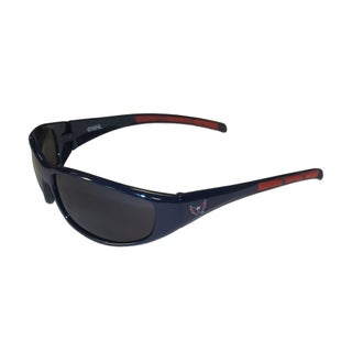 NHL Washington Capitals Sports Team Logo Wrap Sunglasses