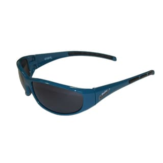 NHL Sports Team Logo San Jose Sharks Blue Wrap Sunglasses
