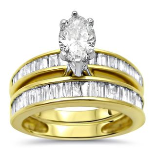 Solitaire Bridal Sets Wedding Ring Sets For Less Overstock