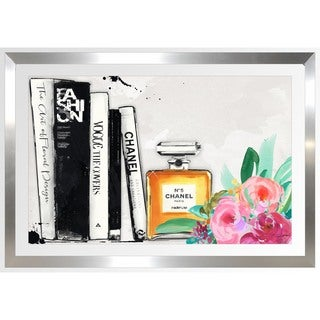 BY Jodi 'The Book Shelf' Framed Plexiglass Wall Art