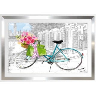 BY Jodi 'Saturday In London' Framed Plexiglass Wall Art