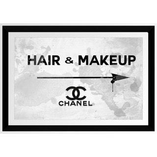 BY Jodi 'Hair And Makeup Chanel' Framed Plexiglass Wall Art