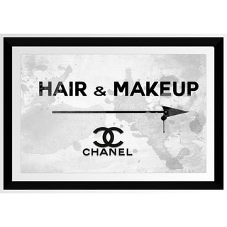BY Jodi 'Hair & Makeup Chanel' Framed Plexiglass Wall Art
