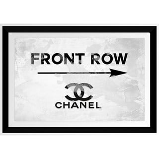BY Jodi 'Front Row Chanel' Framed Plexiglass Wall Art