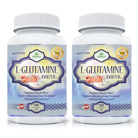 Totally Products L-Glutamine 1000 mg Tablets (100 per bottle)