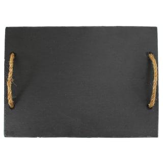 "Twine Rustic Elegance 2669 15.5"" L X 12"" W Vintage & Vine Slate Board"