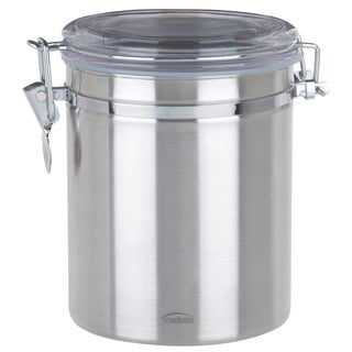 Trudeau 0871802 52 Oz Stainless Steel Canister