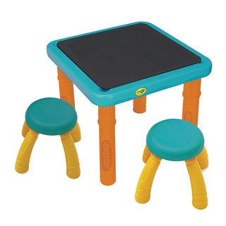 Crayola Sit 'N' Draw Blue Plastic Dry Erase Activity Table