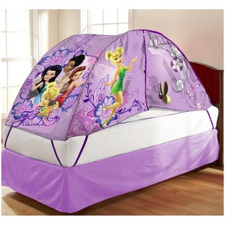 Children's Purple Fabric Fairies Bed Tent