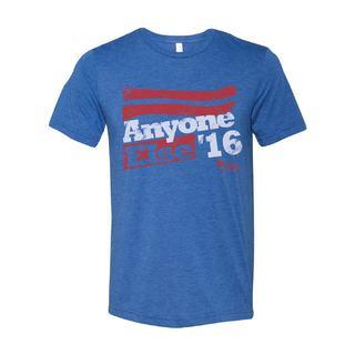 Men's 'Anyone Else '16' Blue Cotton T-Shirt