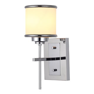 OVE Decors Max ii Chrome Finish iron LED integrated Sconce