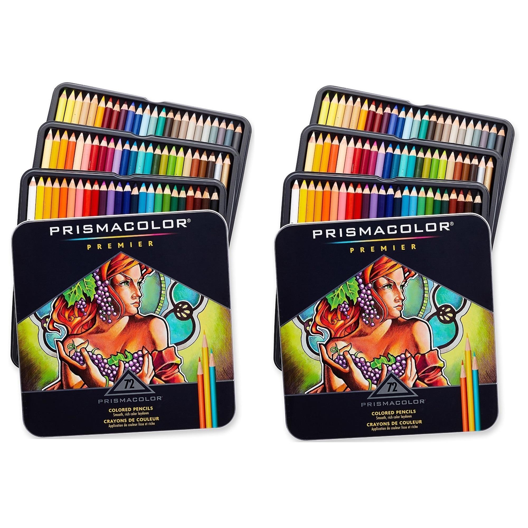 Prismacolor Premier Colored Pencils Soft Core 72 Pack