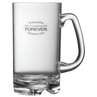Prodyne 18 Oz Clear Unbreakable Polycarbonate Mug