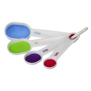 Progressive BA-555 Collapsible Measuring Spoons Assorted Colors