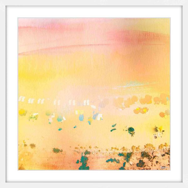 Parvez Taj - 'High Sun' Framed Painting Print - Multi