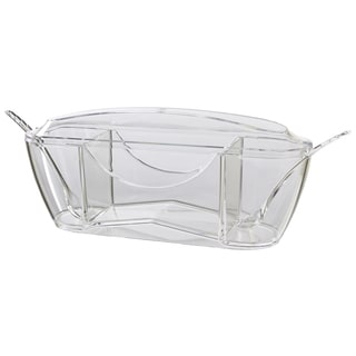 Prodyne Crystal Clear Tea Service Bar