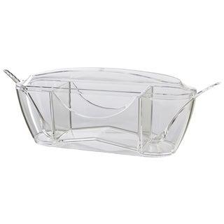 Prodyne Crystal Clear Tea Service Bar