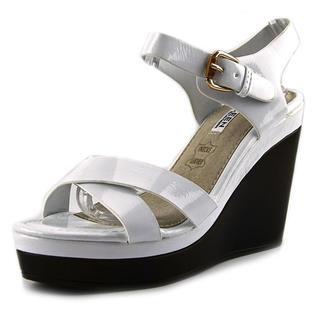 Kayleen by Los Angeles Women's 'Danuta-2' White Patent Sandals