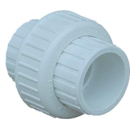 "Genova Products 37210 1"" ISP PVC Slip Union (Pvc Union 1""..."