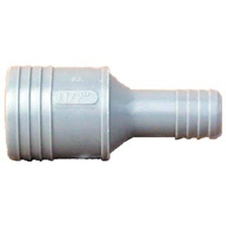 """Genova Products 350154 1-1/2"""" X 1-1/4"""" Poly Insert Reducing Coupling"""