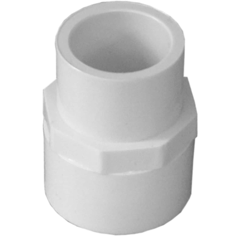 "Genova Products 30175 3/4"" X 1/2"" PVC Reducing Coupling (..."