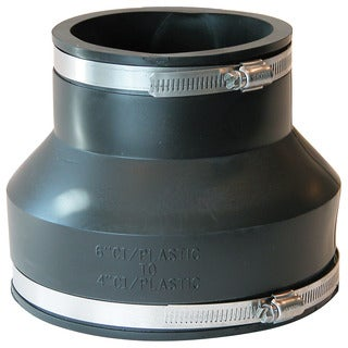 "Fernco P1056-64 6"" X 4"" Stock Coupling"
