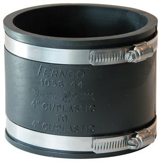 "Fernco P1056-44 4"" Stock Coupling"