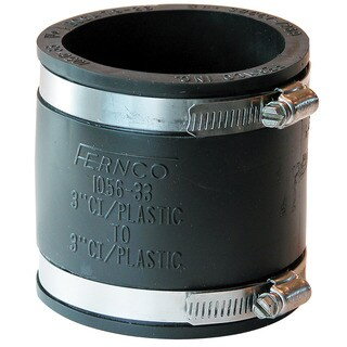"Fernco P1056-33 3"" Stock Coupling"
