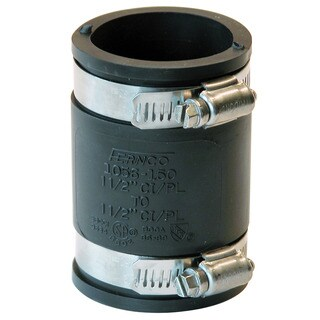 "Fernco P1056-150 1-1/2"" Stock Coupling"