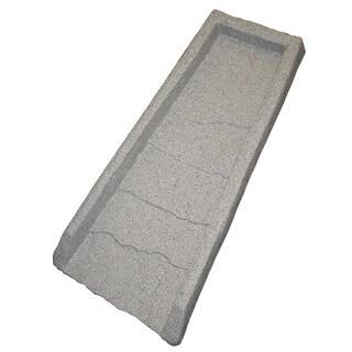 "Emsco Group 2101 22"" Granite Natural Splash Block"
