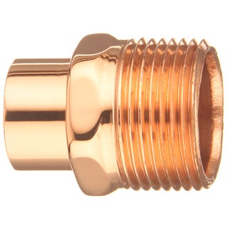 "Elkhart Products 30436 1/2"" Male Adapter FTG X M"