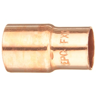 "Elkhart Products 118 1/2-3/8 1/2"" X 3/8"" Copper Fitting Reducers"