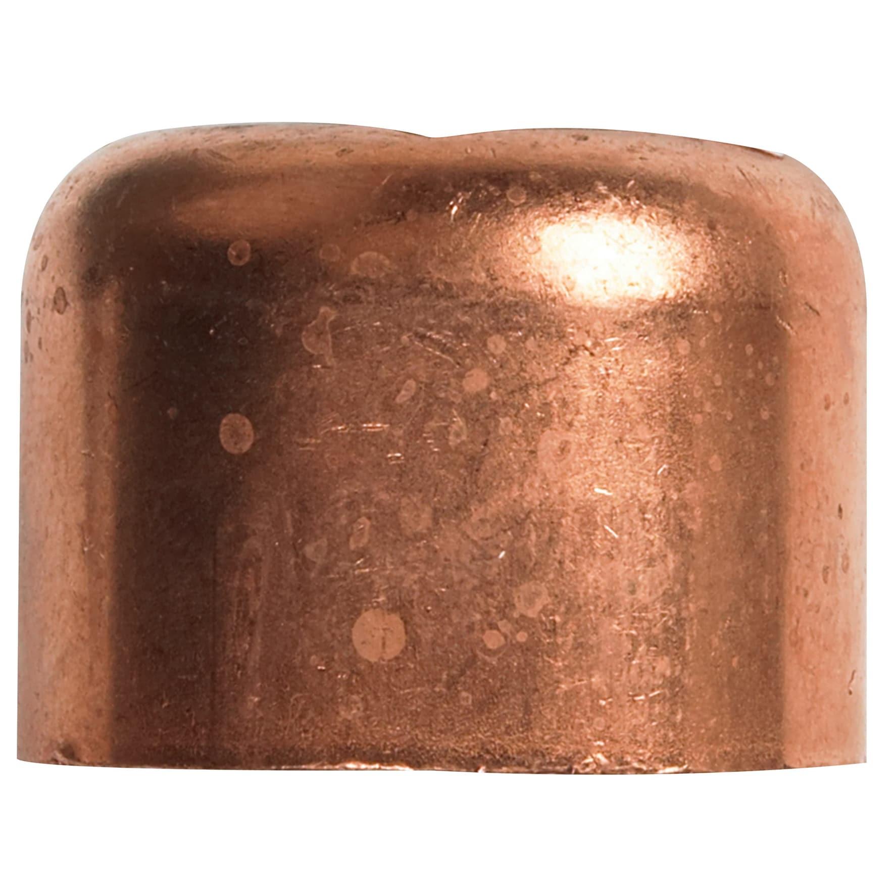 """Elkhart Plastics 117 3/8"""" 3/8"""" Copper (Brown) Tube Caps (..."""