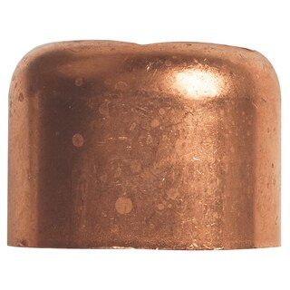 "Elkhart Products 117 1"" 1"" Copper Tube Caps"