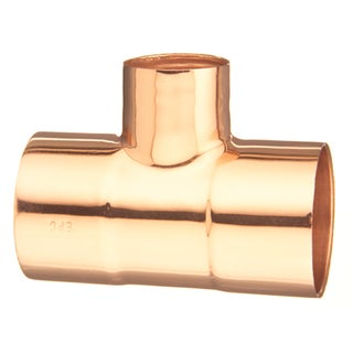 "Elkhart Products 111R3/4X3/4X1/2 3/4"" X 3/4"" X 1/2"" C X C X C Copper Tees"