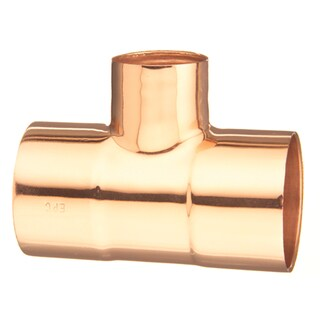 "Elkhart Products 111R3/4X1/2X1/2 3/4"" X 1/2"" X 1/2"" C X C X C Copper Tees"