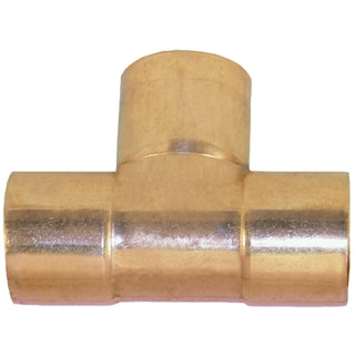 "Elkhart Products 111 3/4"" 3/4"" C X C X C Copper Tees"
