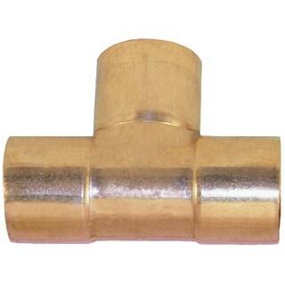 """Elkhart Products 111 1/2"""" X 1/2"""" X 3/4"""" C X C X C Copper Tees"""