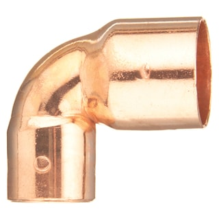 """Elkhart Products 107CR 3/4X1/2 3/4"""" X 1/2"""" 90-degree Copper Elbows"""