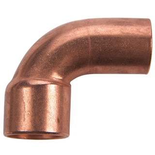 "Elkhart Products 107C2 3/4"" 3/4"" Copper 90-degree Street Elbows"