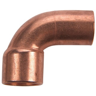 "Elkhart Products 107C2 1/2"" 1/2"" Copper 90-degree Street Elbows"