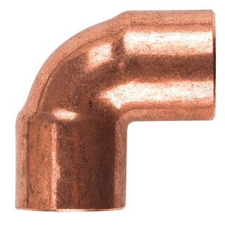 "Elkhart Products 107C 3/8"" 3/8"" X 3/8"" 90° Copper Elbow"