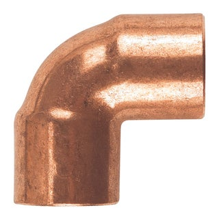 "Elkhart Products 107C 3/4"" 3/4"" 90-degree Copper Elbows"