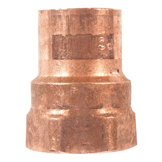 """Elkhart Products 103 1/2"""" 1/2"""" Copper Female Adapters"""