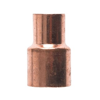 "Elkhart Products 101R 3/4X1/2 3/4"" X 1/2"" Copper Couplings With Stop"