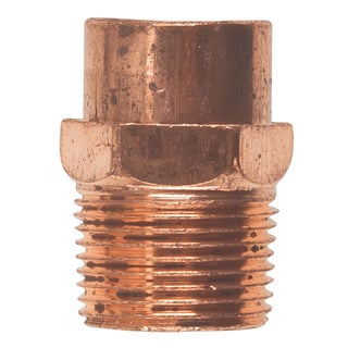 """Elkhart Products 10130330 3/4"""" Copper Male Adapter"""