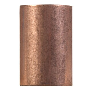 """Elkhart Products 100 3/8"""" 3/8"""" Copper Couplings With Stop"""