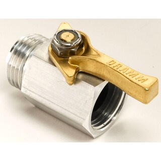 Dramm 60-22373 Aluminum Shut Off Valve