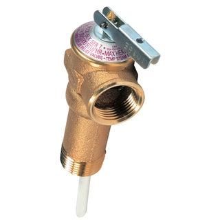 Camco 10493 Temperature & Pressure Relief Valve Extended Shank